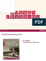 2011 HK Company Law PPT_Ch01