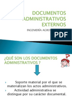 Documentos Administrativos Externos Diaposss
