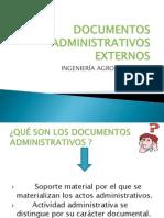 Documentos Administrativos Externos Diaposss