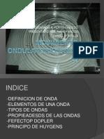MOVIMIENTO ONDULATORIO(ONDAS)
