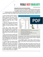 Asian Development Bank - Weekly Debt Highlights