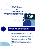 definitions and Overview of OD