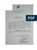 Ação Penal PÚBLICA INCONDICIONADA - PORTARIA