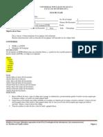Guia de clases No. 1 Diseño de páginas Web 2011