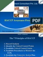 HACCP Awareness Presentation