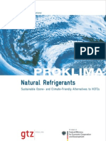 GTZ Proklima Natural Refrigerants