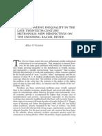 Urban Inequality -- Chapter 1