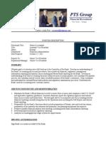 Senior Accountant Position Description