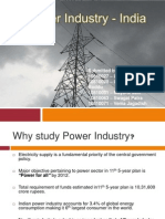 Power Industry - India