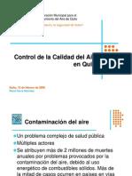 Gestión Calidad Del Aire Quito 2008