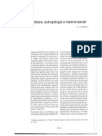 Thompson, E.P. - Folklore, Antropologia e Historia Social