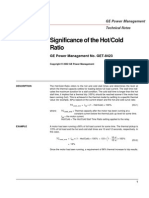 GET-8423 - Significance of Hot to Cold Ratio