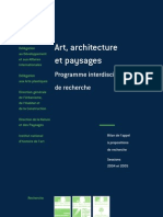 INF2005 Art, Architecture & Paysages _FR
