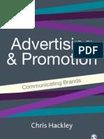 Advertising & Promotion. Communicating Brands (2005) (Chris Hackley)