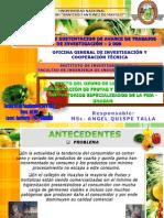 II Jornada de Avances de Ozno Para Frutas y Hortalizas