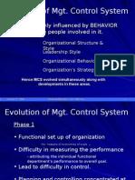 L2 Evolution of MCS