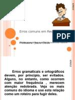Erros comuns em Redação-portugues