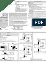 Instruction Sheet OSA20-R00