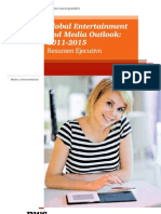 Global Entertainment and Media Outlook 2011- 2015  (PwC) - OCT11