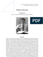 Profiles in Research