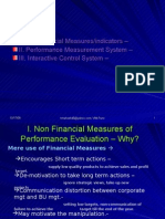 L28 29 Non Financial Measures of Performance Evaluation