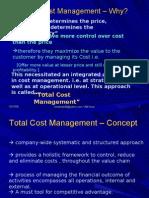 L31 Total Cost Management