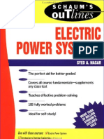 Schaum's Electric Power Systems 2