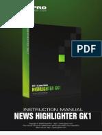 Help File News Highlighter g k 1