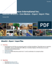Gemcom Minex5.2 - Core - Export Import Files