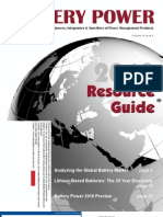 Battery Power Resource Guide 2010