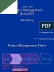 Project management Estimating