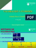 Valoracion y fusiones