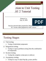2 Unit Testing