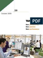 e20 Sales Presentation October 2009
