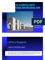 2010-11.1 LRFD Effect DOTs and RCP