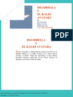 Shambhala y El Kalki Avatara