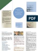 folleto - Síndrome de Down