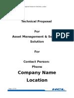 Proposal for Textile Manufacturer (RFID)
