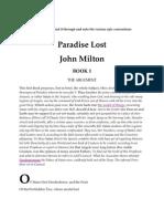 ENG 432 Milton's Paradise Lost