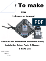 How to Make HHO and PWM | Internal Combustion Engine | Combustion