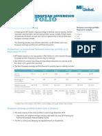 MF Global Short Term European Sovereign Portfolio