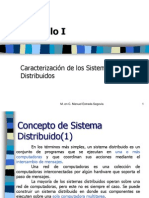 Capítulo 1, Caracterización de los Sistemas Distribuidos