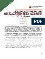 VI CONVENCION COLECTIVA