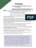 Tutorial - Como Manter o Windows Organizado Veloz e Seguro Rev1 - By Nickdan