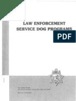 1985 k-9 guidelines