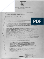 Memorandum for the President