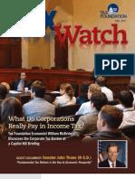 Tax Foundation Tax Watch, Fall 2011