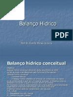 balan hidrico conceitual