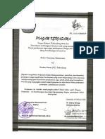 Piagam Kerjasama Unmul-pt.daha Group