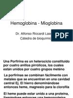 Hemoglobina - Mioglobina II